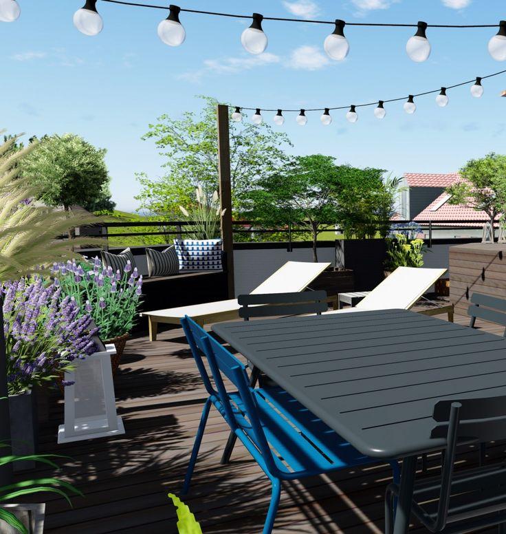 les 73 meilleures images du tableau cr ations de jardins r alisations e p espace design sur. Black Bedroom Furniture Sets. Home Design Ideas