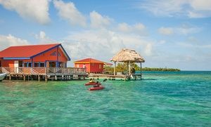 Groupon - 4, 5, or 7 Nights for Two with Meals and Round-Trip Boat Transfers at Yok Ha Resort in Belize. Combine Up to 14 Nights. in Belize. Groupon deal price: $699