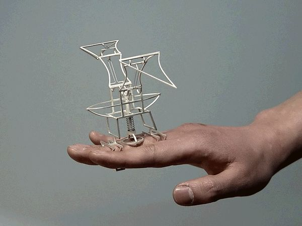Part Engineering, Part Jewelry, Part Sculpture: Dukno Yoon's Kinetic Wings Yearn to Fly