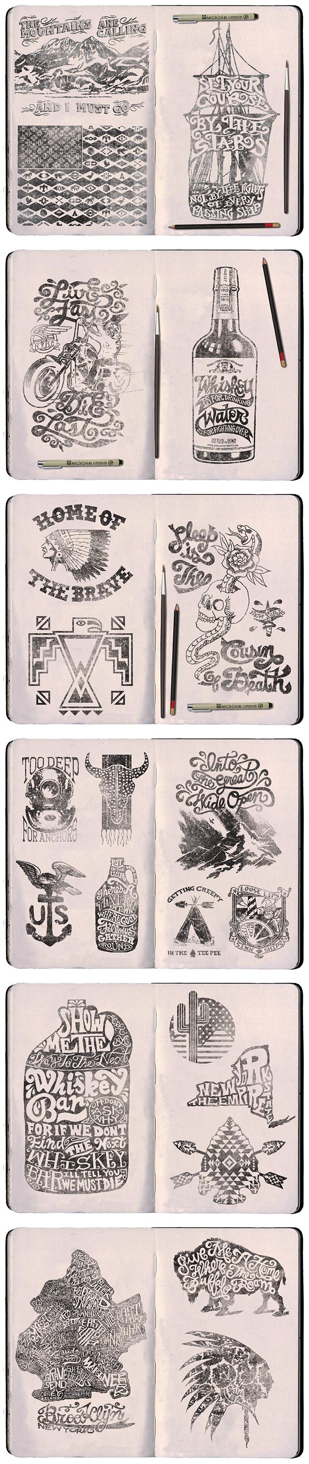 TRAVOIS GOODS COMPANY sketches