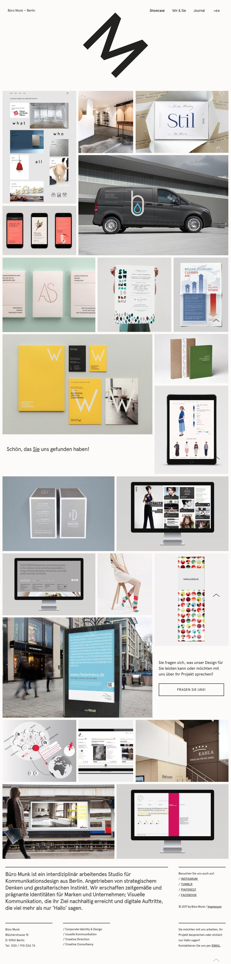 Site of the day: Büro Munk See more: http://mindsparklemag.com/website/buro-munk/  Büro Munk is a beautifully designed site that is featured as Site of the Day on design blog Mindsparkle Mag