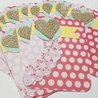 Kimm Landmesser: Variety of Handmade Project Life Cards