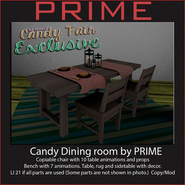 Candy Dining room by PRIME | Flickr - Photo Sharing!
