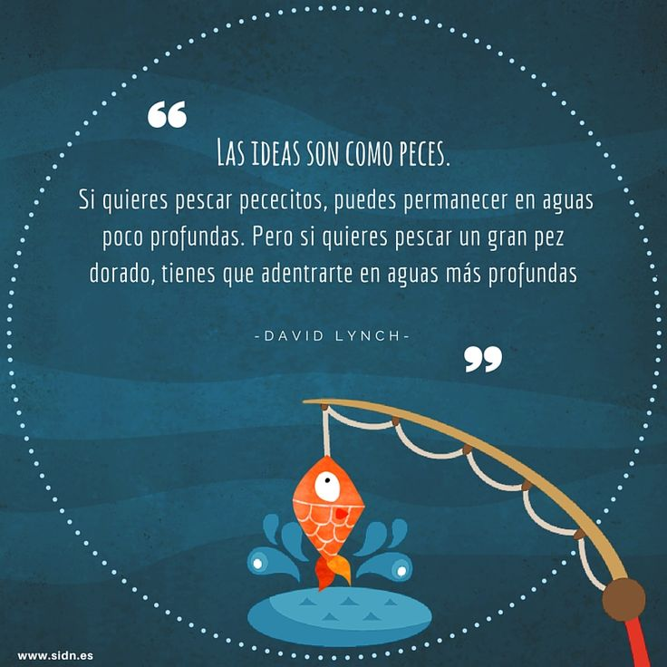Así son las #ideas #Frases #SIDN #MarketingDigital #FraseDelDia #Peces