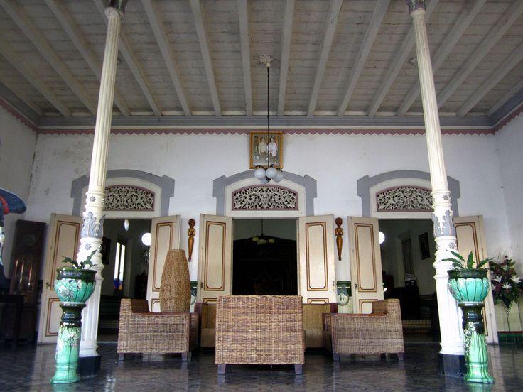 The Pendopo of an Old Batik Merchant House in Kampung Batik Sondakan, Surakarta / Solo (Surakarta for New 7 Wonders Cities)