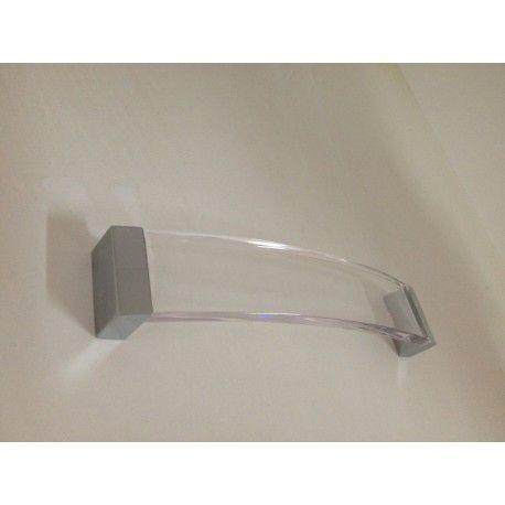 Uchwyt Meblowy US-002 160mm Chrom/Akryl