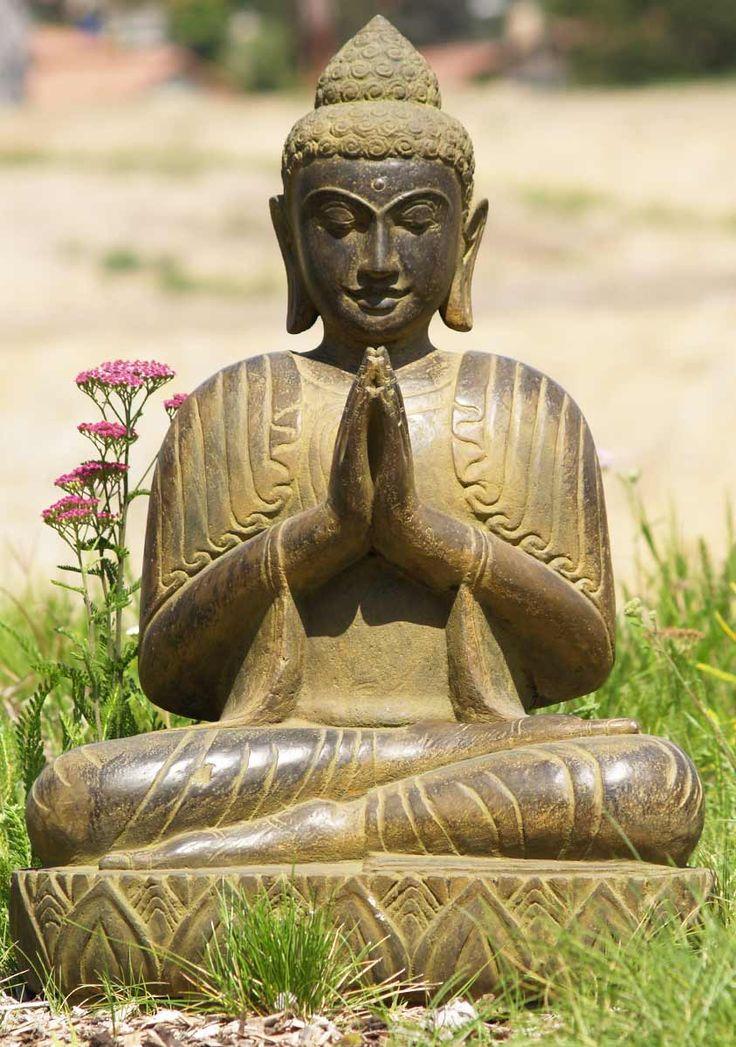 Buddha Statues For The Garden: View The Stone Garden Wai Buddha Statue 28