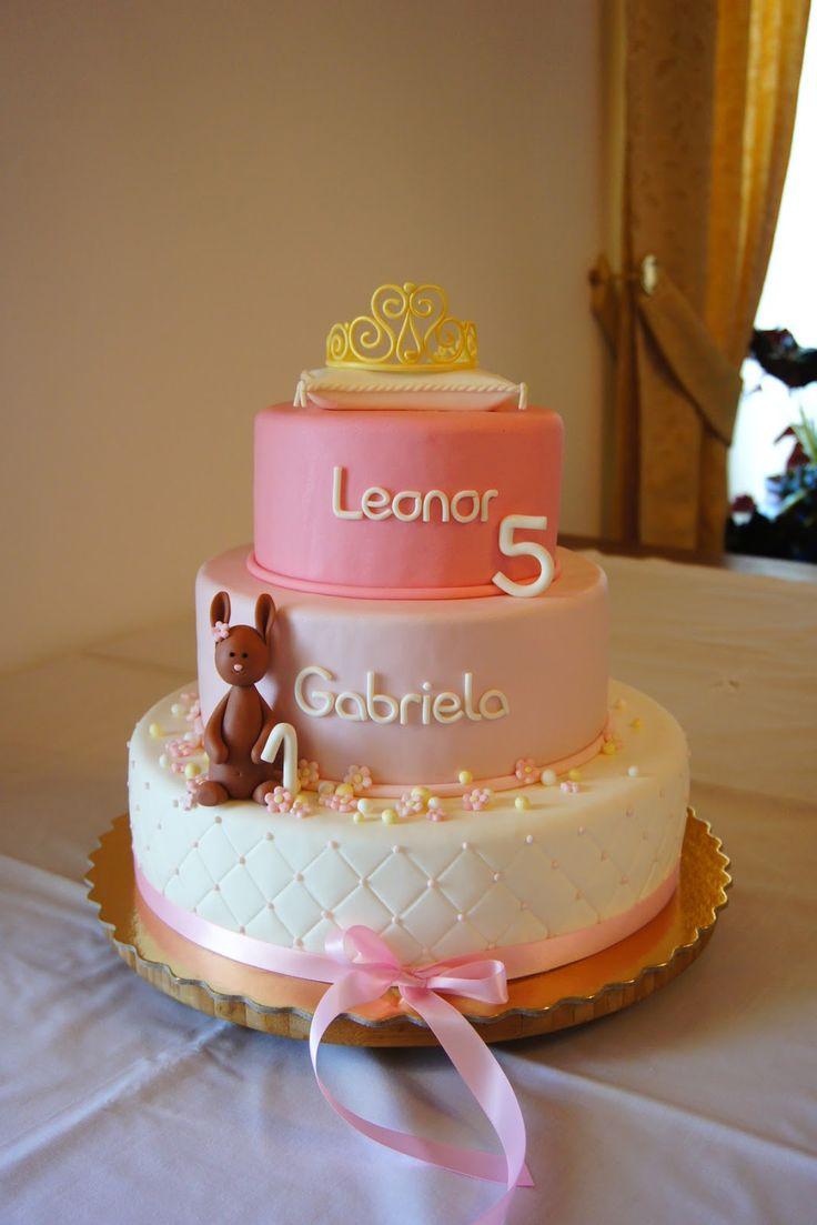 Menina Framboesa: a princesa Leonor e a coelhinha Gabriela | princess and bunny cake #princesscake