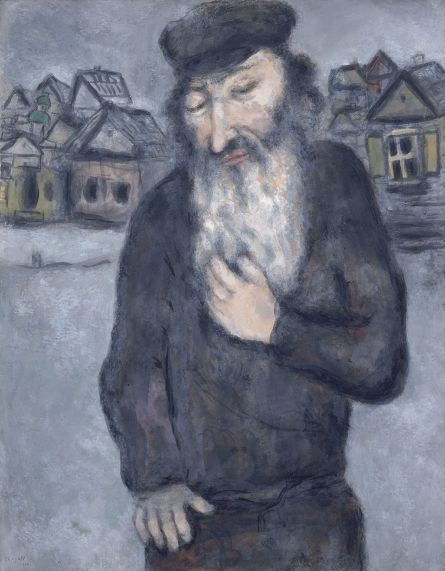 The Jewish Museum | Marc Chagall, Untitled (Old Man with Beard), Works on Paper