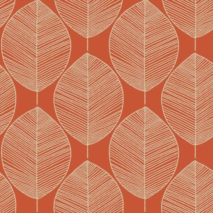 NEW ARTHOUSE OPERA RETRO LEAF PATTERN LEAVES MOTIF DESIGNER VINTAGE WALLPAPER