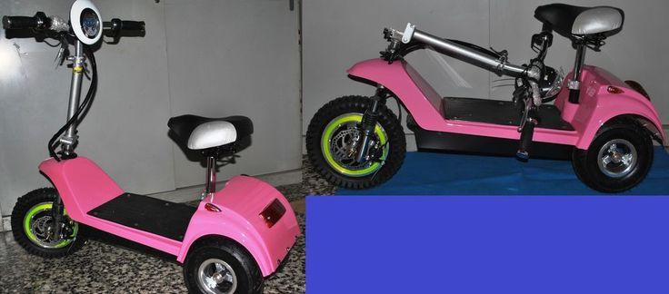 tre ruote 3 elettrico pighevole con luci frecce 250w  scooter