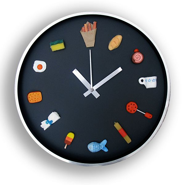 M s de 1000 ideas sobre relojes de pared de la cocina en - Relojes pared cocina ...