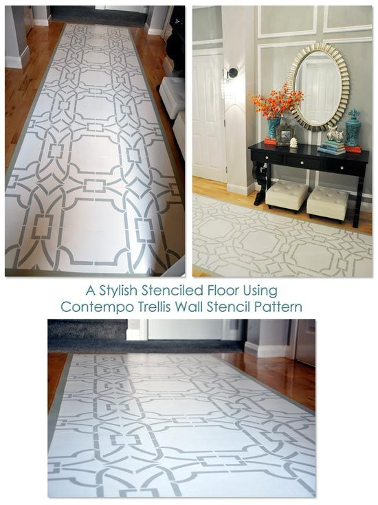 17 Best Images About Stenciled Floors On Pinterest