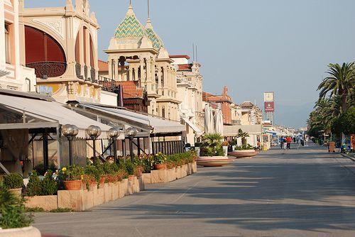 Viareggio -  Promenade (known as Passeggiata a mare) #TuscanyAgriturismoGiratola
