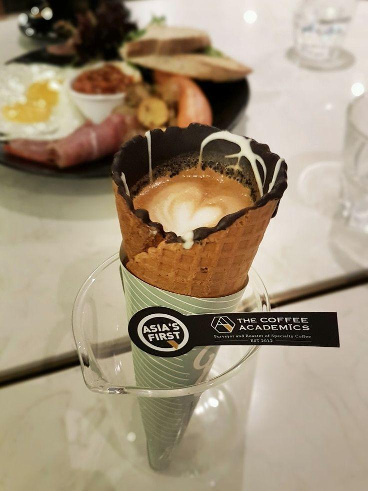 """Coffee In A Cone (Piccolo)"", The Coffee Academics, Singapore"