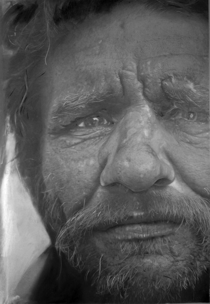 "Paul Cadden's Unbelievably Photorealistic Drawings (PHOTOS)  ""NVA 24,"" 26 x 32 in"