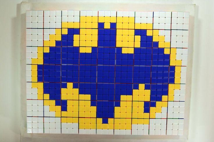 Batman Rubik's Cube Stop Motion   KITSLAM   Watch the Video: https://www.youtube.com/watch?v=dJw-Uc2IU4w #batman #rubikscube #stopmotion