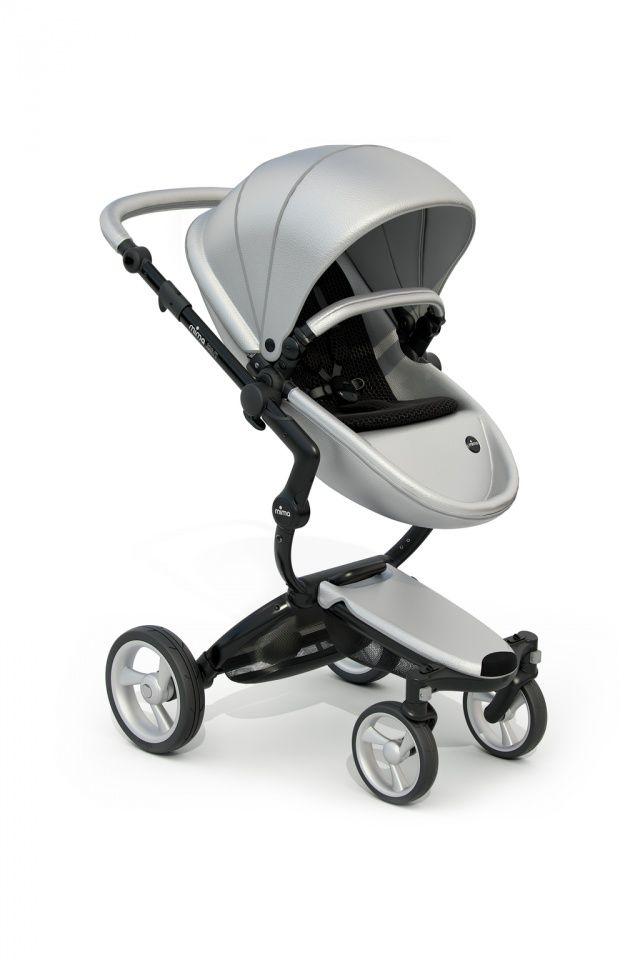 MIMA Xari kočárek 3G - sedák s korbou Argento   Kašpárek Baby