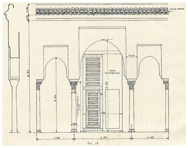 le jardin et la maison arabes au maroc de jean gallotti page 2 - Plan D Une Maison Marocaine