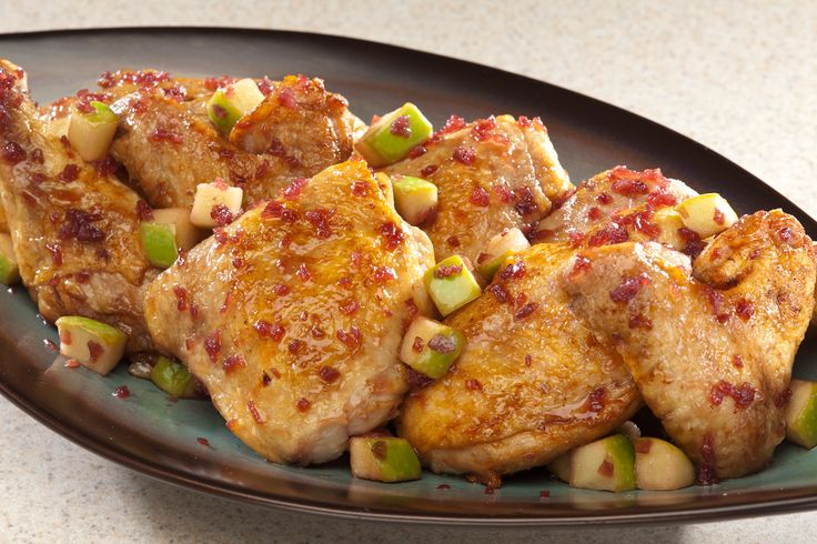 Empire Kosher Ultimate Rosh Hashanah Chicken (Serves 4 to 6) : : : This recipe includes symbolic ingredients for this holiest of holidays – apples, pomegranate, honey – combined in an unusual way.