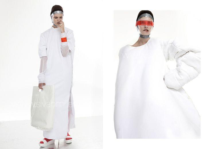 Ice GLACIERS / new work / personal #sivanmiller #sivanlm @Sivan Miller #therealsivanmiller | Model: Skye | Stylist : Francois F | Designer : Renee Nicole S