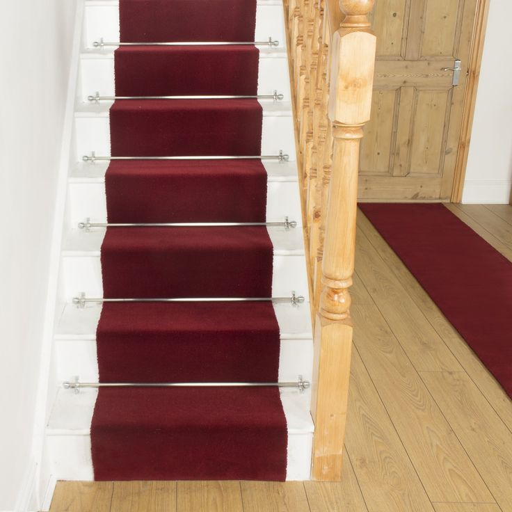 Best Basics Red 11000 Stair Runner With Images Carpet 400 x 300