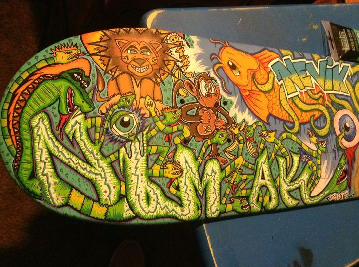 70 best skateboard art images on Pinterest | Skateboards, Skate ...
