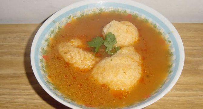 Retete Supa de rosii cu galuste
