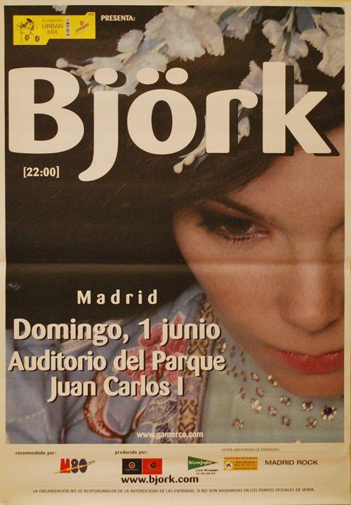 BJORK, 1 de junio 2003 Madrid