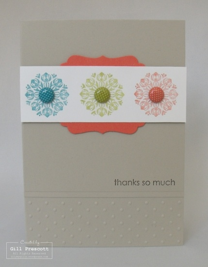 Stampin Up - Charming stamp set - 2012 in-colours