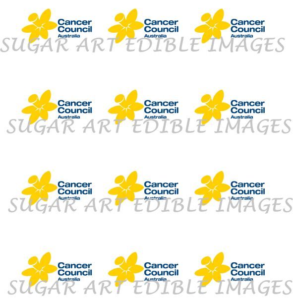 Councer Council Fundraiser Cupcake Toppers for 2015 Biggest Morning Tea #cancercouncil #fundraiser #australiasbiggestmorningtea