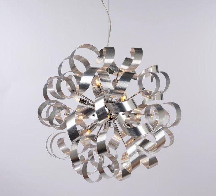 Alice taklampe Aluminium | Lampehuset