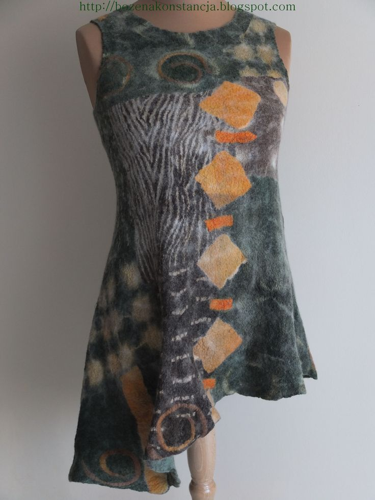 Nuno Felted Dress http://www.tabathascreations.com