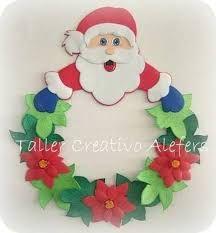 Resultado de imagen para navidad 2014 manualidades en foami