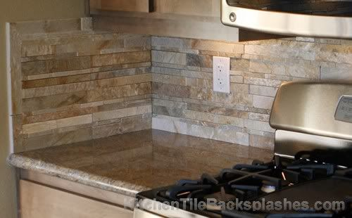 Tiling Over Granite   Splash Back- Sandstone photo granite ...