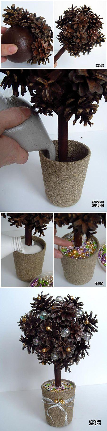 Новогоднее чудо-дерево своими руками легко и просто | Умелые ручки