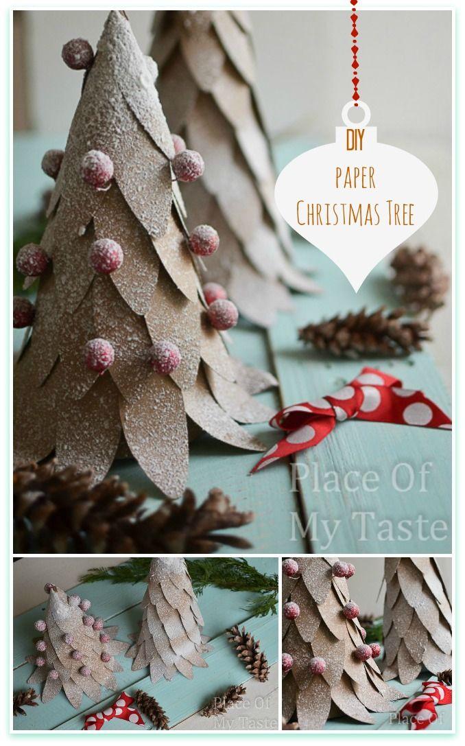 Awesome DIY Christmas Home Decorations and Homemade