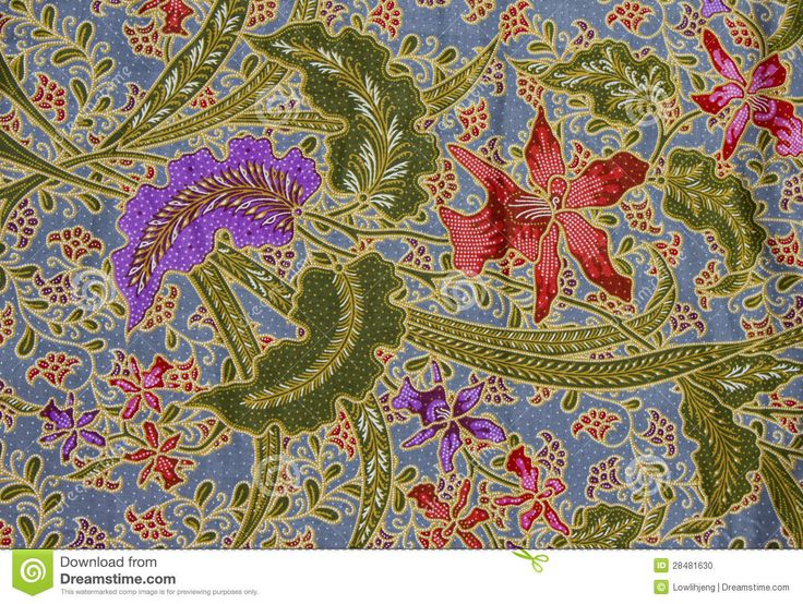 Batik Pattern, Indonesia - Download From Over 45 Million High Quality Stock Photos, Images, Vectors. Sign up for FREE today. Image: 28481630