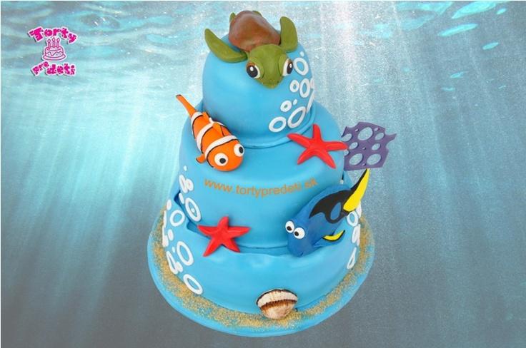 Torta Nemo, Dori, Junior. viac na http://www.tortypredeti.sk