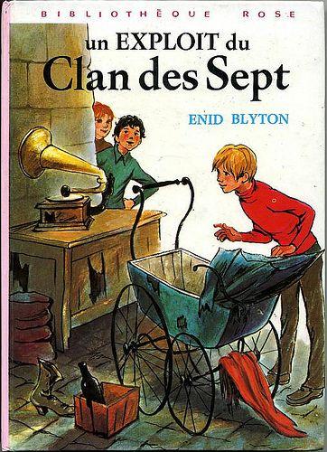 Enid Blyton : série Clan des Sept