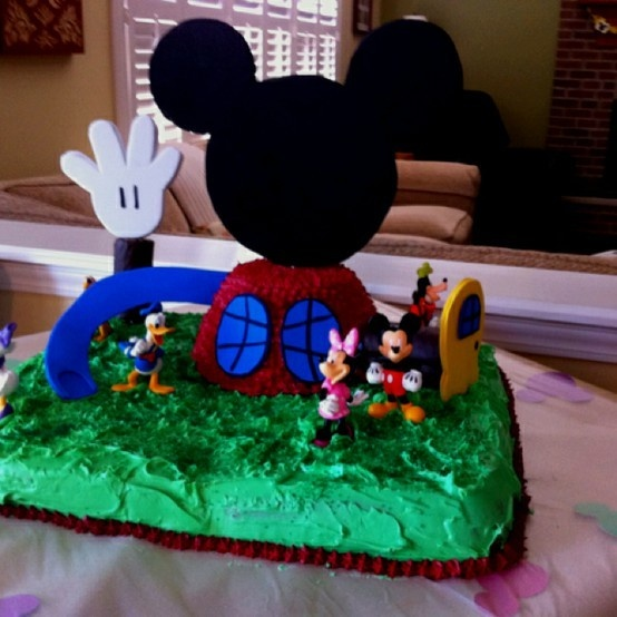 32 Best Mickey Mouse Birthday Images On Pinterest