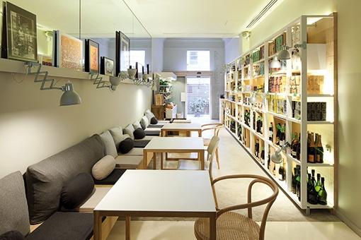 Restaurante Mordisco en Barcelona. Grupo Tragaluz. También para copas.
