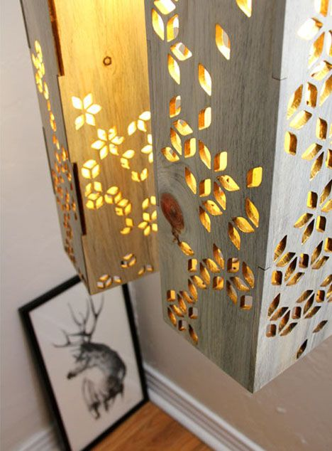 1000 Images About Laser Cut Lighting On Pinterest