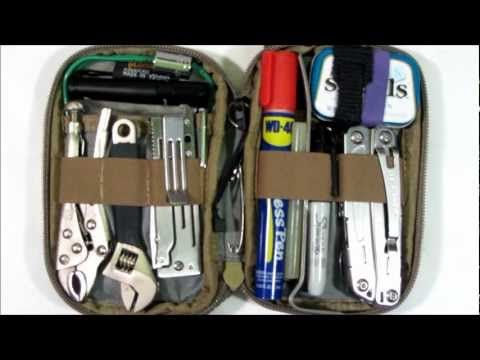 Micro Pocket Organizer Tool Kit: 100 Items for Cars Glove Box, Work Desk, or EDC Bag! (Pin now, watch later)