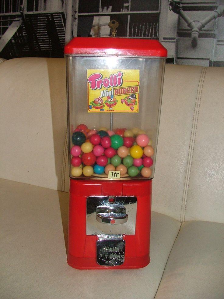 distributeur lucky gum