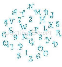 new alphabet letternumber cake cookie cutter fondant decorating tool frill mold