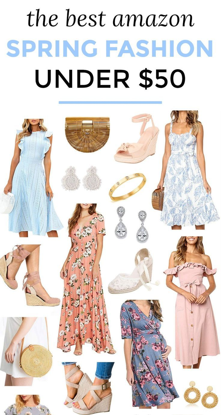 Preppy Amazon Fashion Finds Under 50 The Best Feminine Amazon Fashion For Spring And Summer Under 50 Everything Ship Fashion Amazon Fashion Amazon Dresses