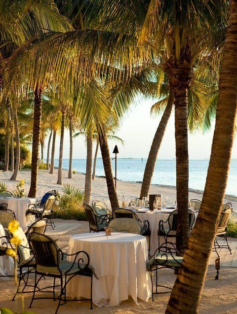 Latitudes Restaurant | Key West So romantic and so beautiful watching the sunset