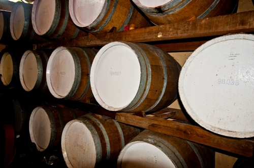 We keep them in the barrels for maturation. The fortified wines will take 5 years to keep before bottling.