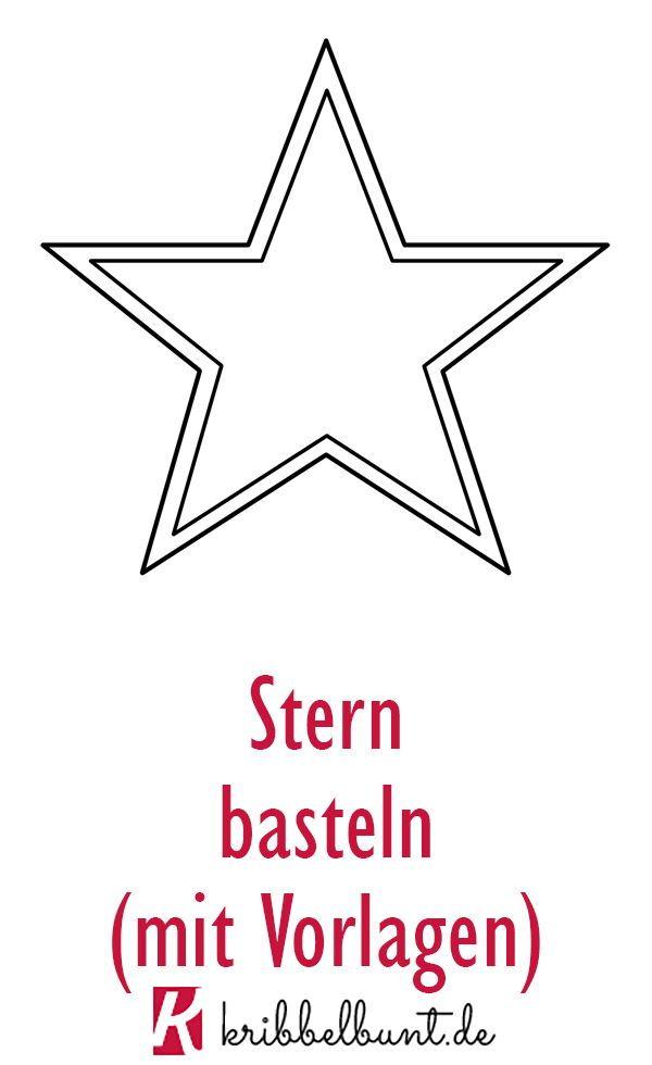 Stern Vorlage Zum Ausdrucken Pdf Sternvorlagen Sterne Zum Ausdrucken Bastelvorlagen Zum Ausdrucken Schablonen Zum Ausdrucken